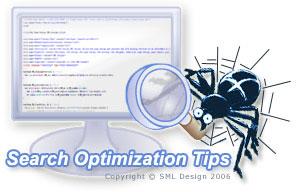 Search Engine Optimization Tips Spider - SML Design