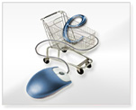 Shopping Cart, e-Commerce Services Image.