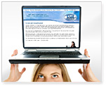Web Site Services Image.