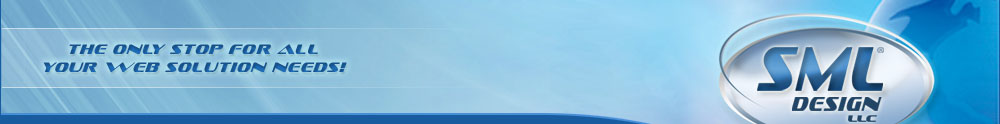 SML Design - Web Design Logo Header Image.